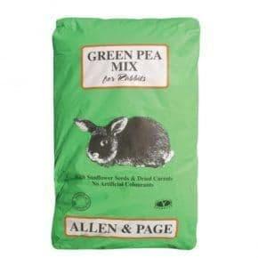 A&p green pea rabbit mix
